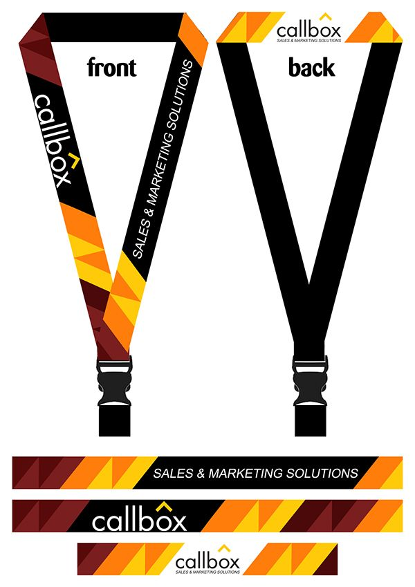 Company Lanyard On Behance