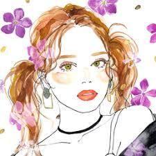 土屋みよ イラ の画像検索結果 土屋みよ 水彩画 女の子 イラスト