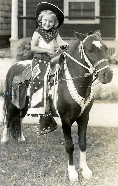 The Little Cowgirl