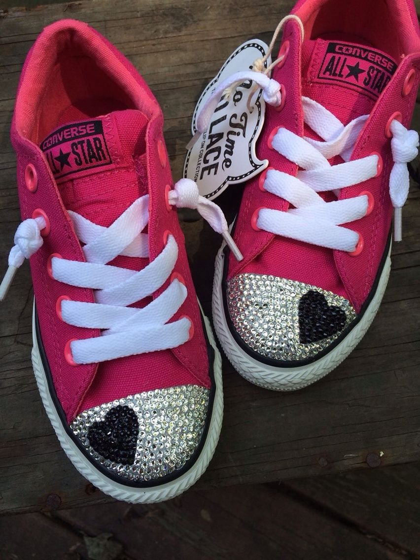 https   m.facebook.com easypzcreations  rdr Bedazzled Converse Bedazzled 229f8da5964