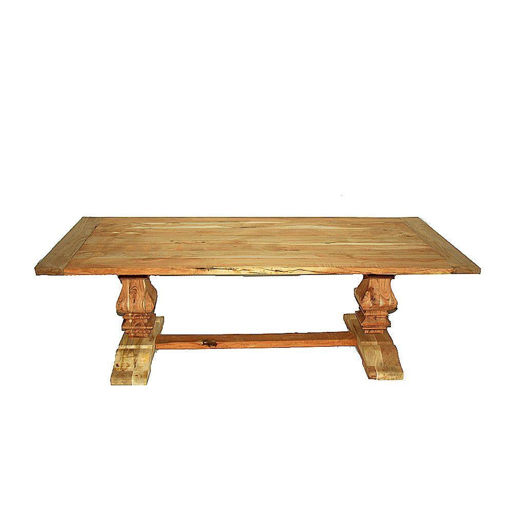 Farmhouse Teak Dining Table