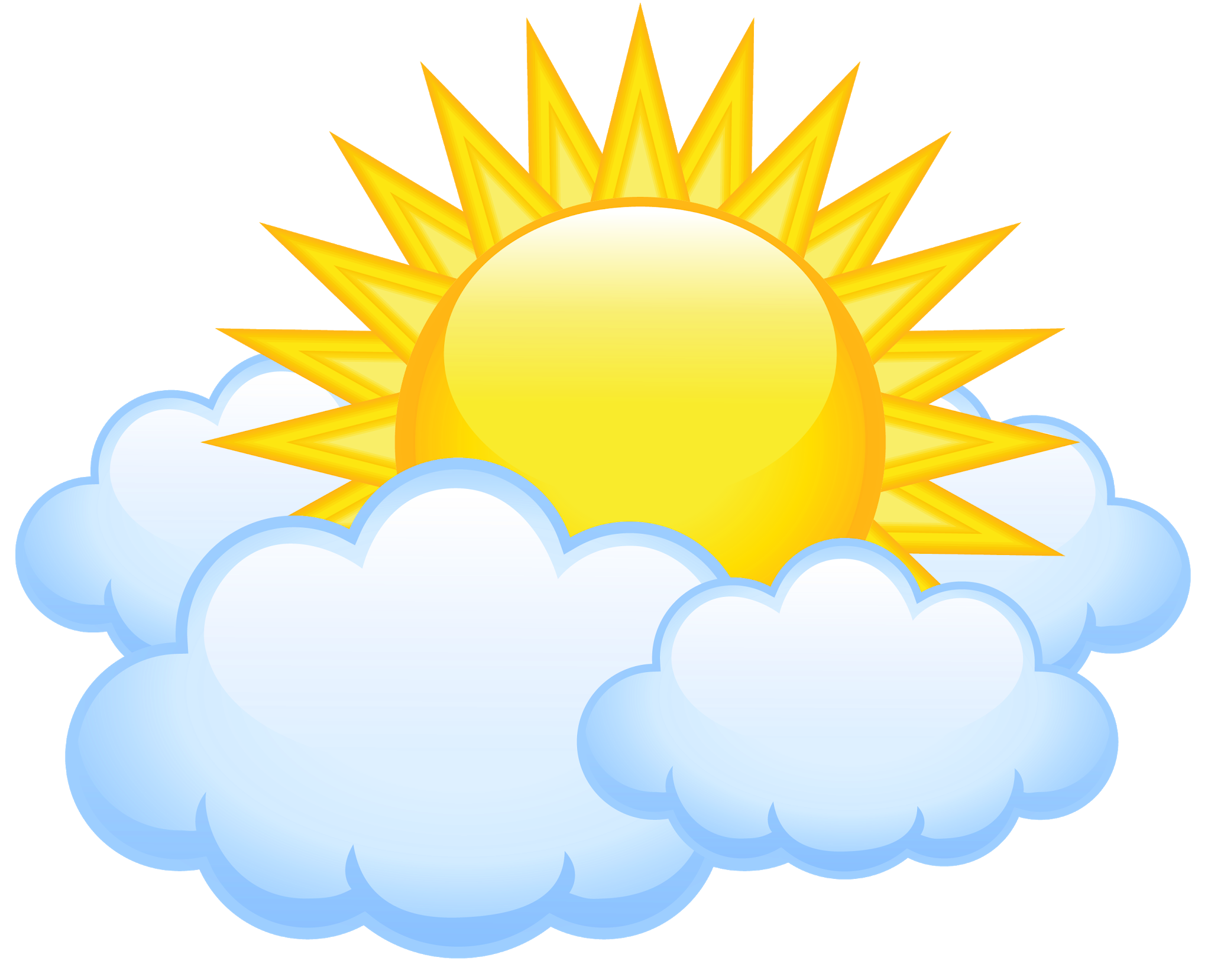 Cartoon clouds sunshine and. Pin by pngsector on