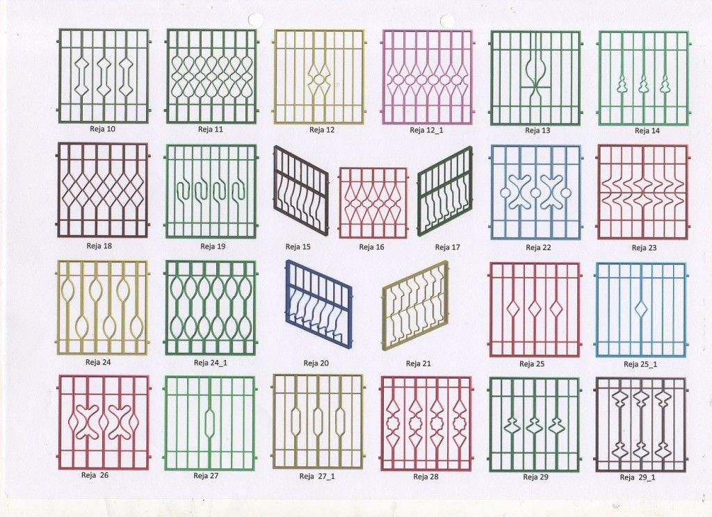 Modelos de rejas para ventanas de b squeda rejas - Modelo de rejas ...