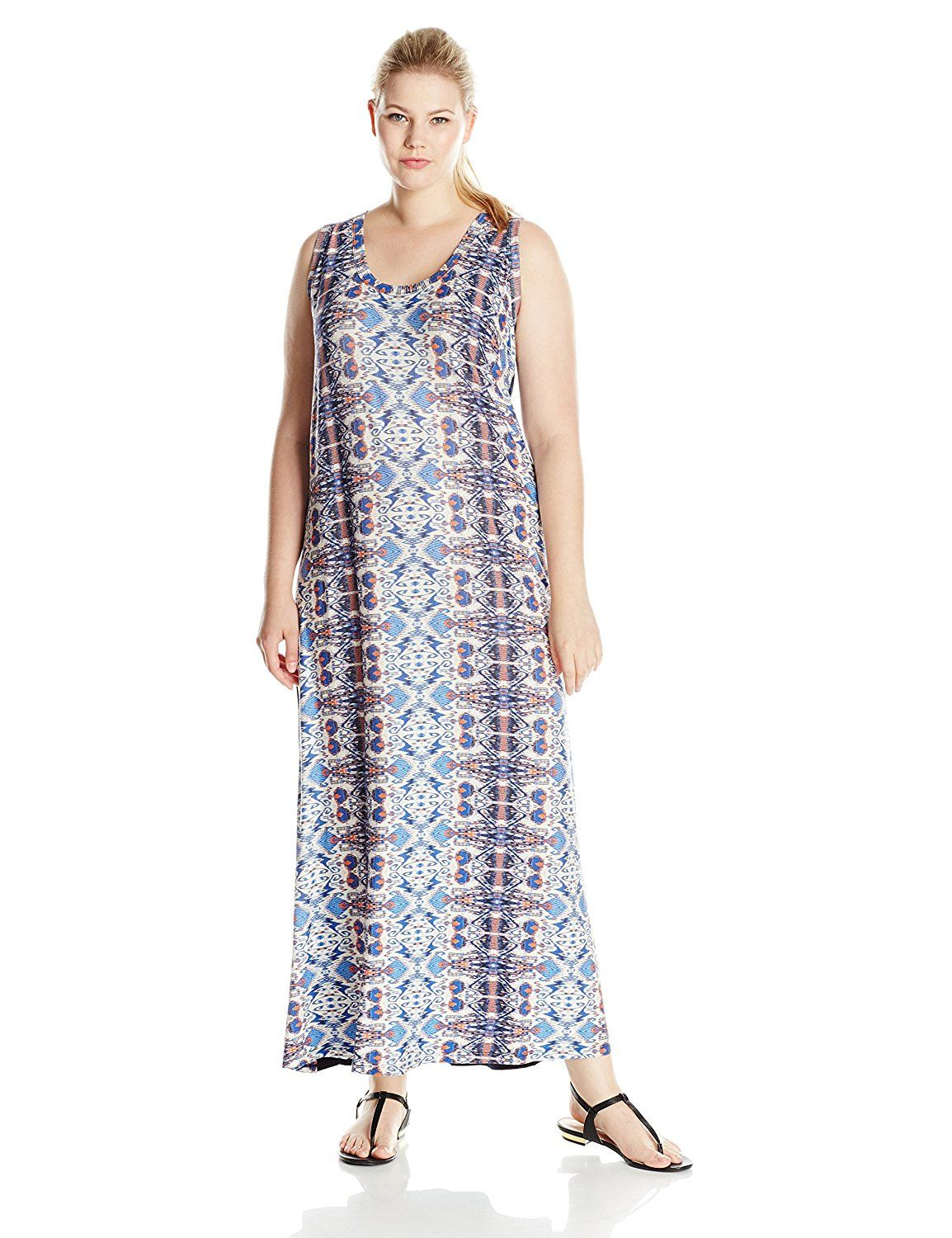 Karen kane womenus plussize maxi dress tried it love it click