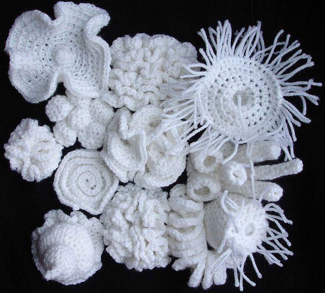 crochet landscape | Fadenkunst, Garn und Bastelideen