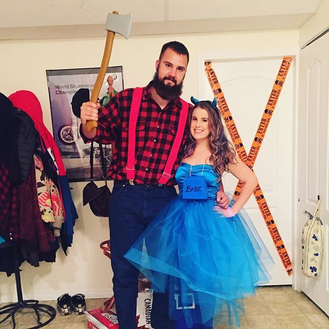pin for later 36 couples costume ideas that are ridiculously cheap paul bunyan and babe
