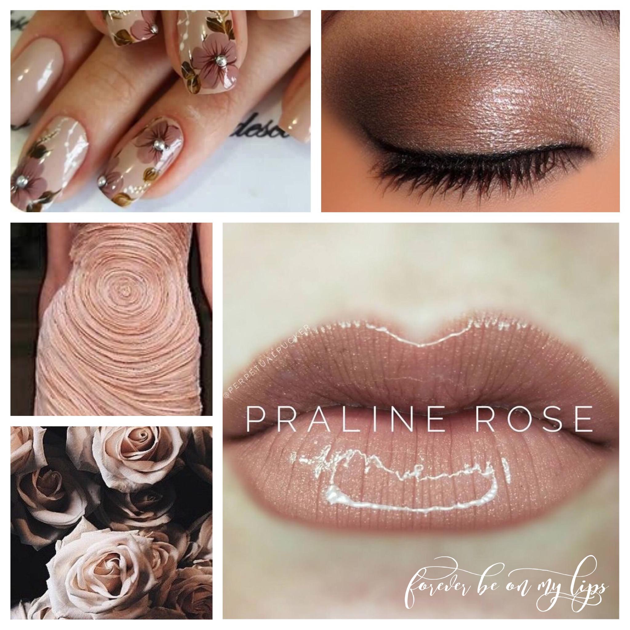 Praline Rose Lipsense Collage Contact Me Dannielle Richmond
