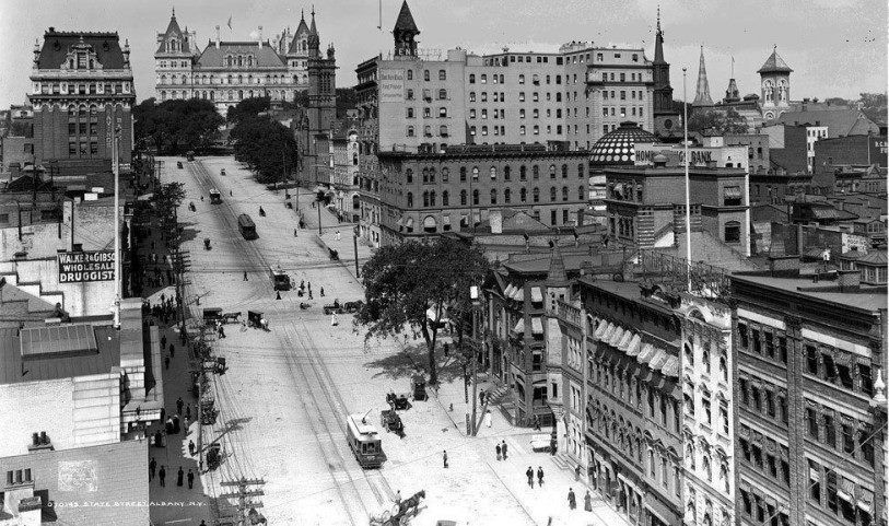 State Street Albany Ny Late 1800s Early 1900s New York Pictures Albany New York State Street