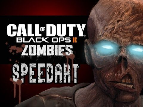 Black Ops 2 Zombies Painting (Nuketown, Call of Duty Speedart)
