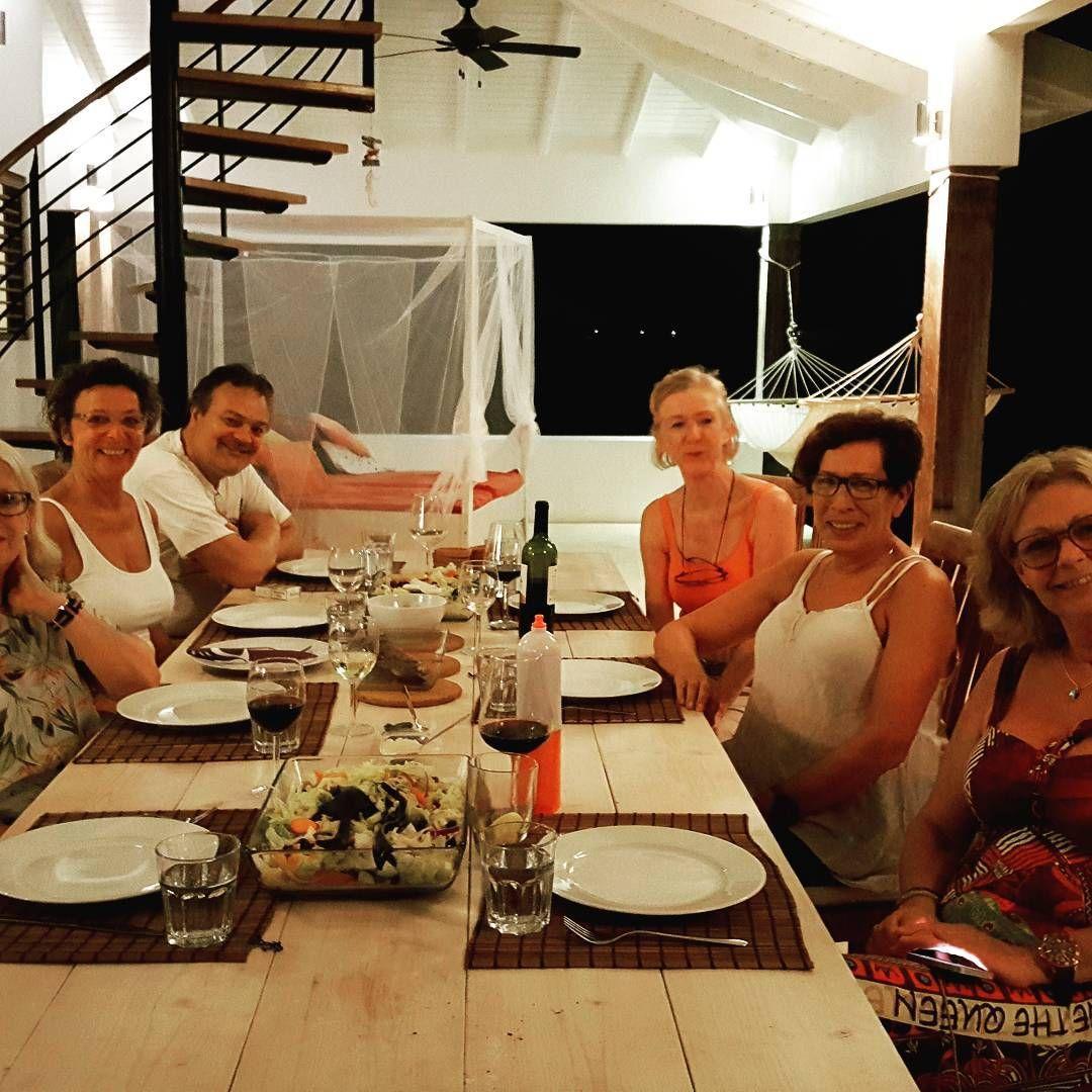 Quality time with friends   #Bonaire #qualitytime #friends #villacaribbeandream ... -