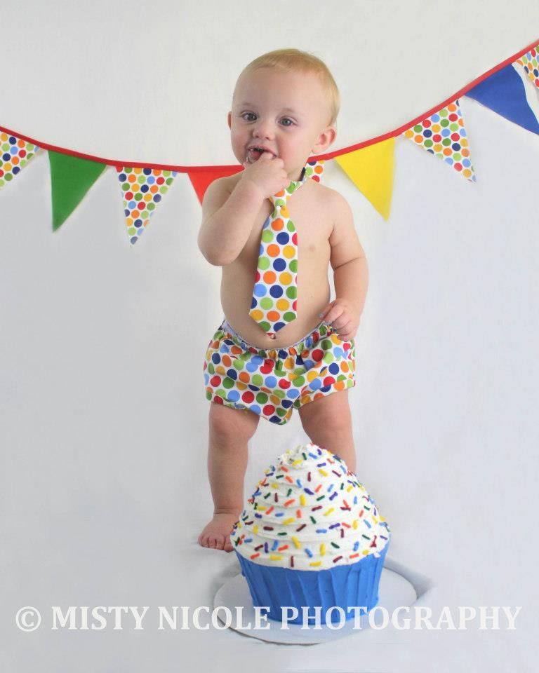 1st Birthday Picture Idea, Smash Cake, 1 Year Boy Picture