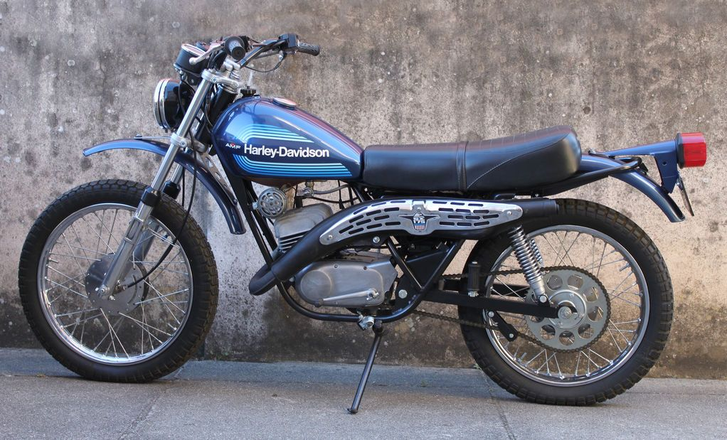 1977 Harley Davidson 125 Sxt