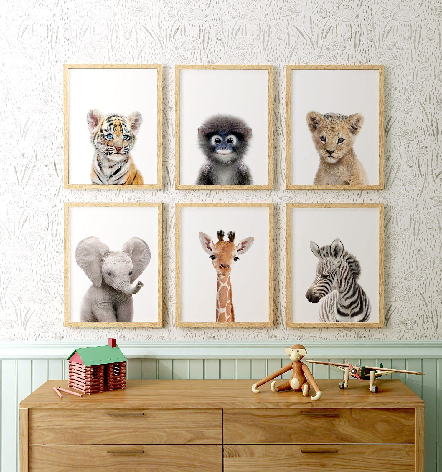 Safari Nursery Decor Printable Art Safari Animal Prints Etsy Nursery Animal Prints Safari Nursery Decor Safari Animal Prints Nursery