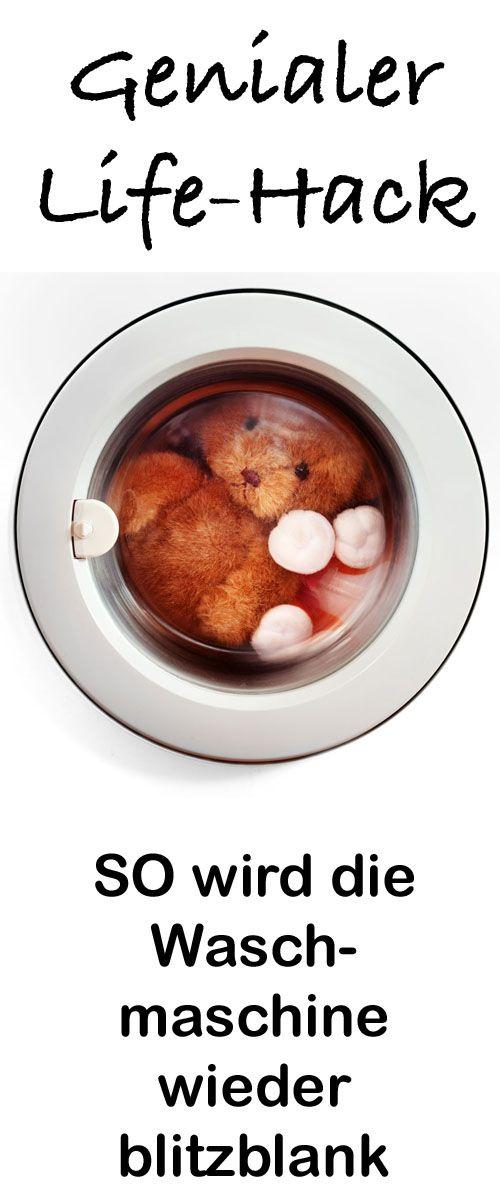 saubere waschmaschine nie wieder m ffelige w sche mit diesem trick haushalt tipps tricks. Black Bedroom Furniture Sets. Home Design Ideas