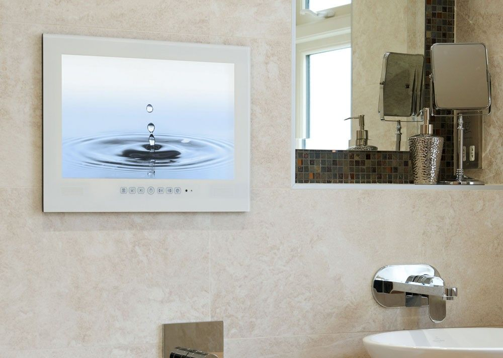 Watervue 15 Inch Waterproof Television W Digital Tuner Bathroom Tv Tv In Bathroom Bathroom Waterproof Television