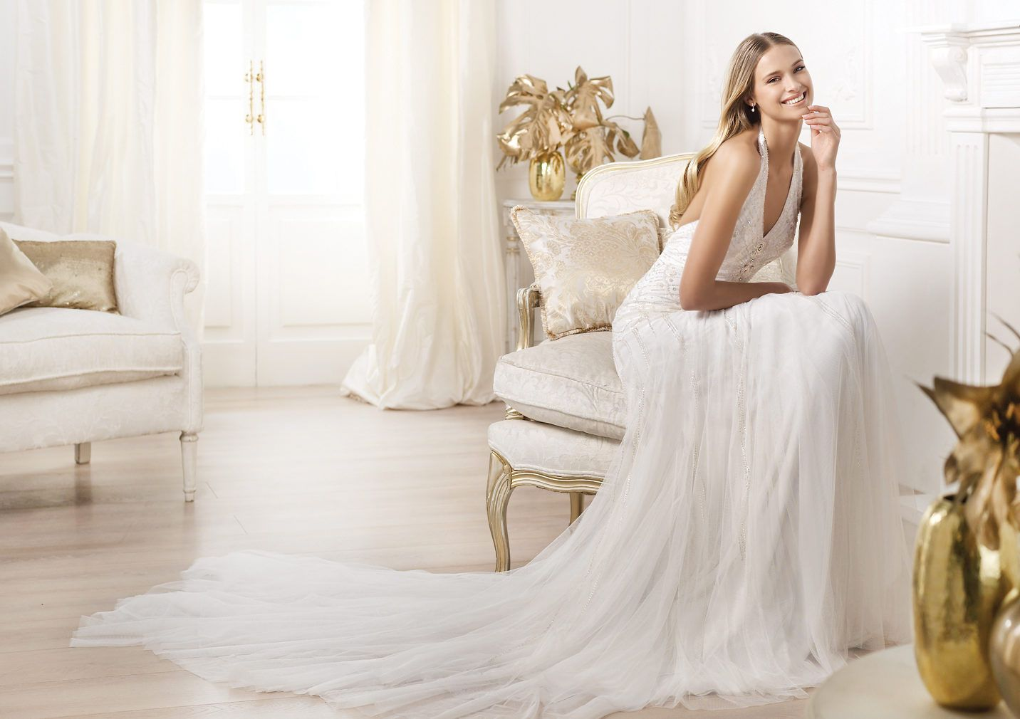 Pronovias Presents The Stunning 2018 Preview Collections: Pronovias Presents The Lacey Wedding Dress. Fashion 2014