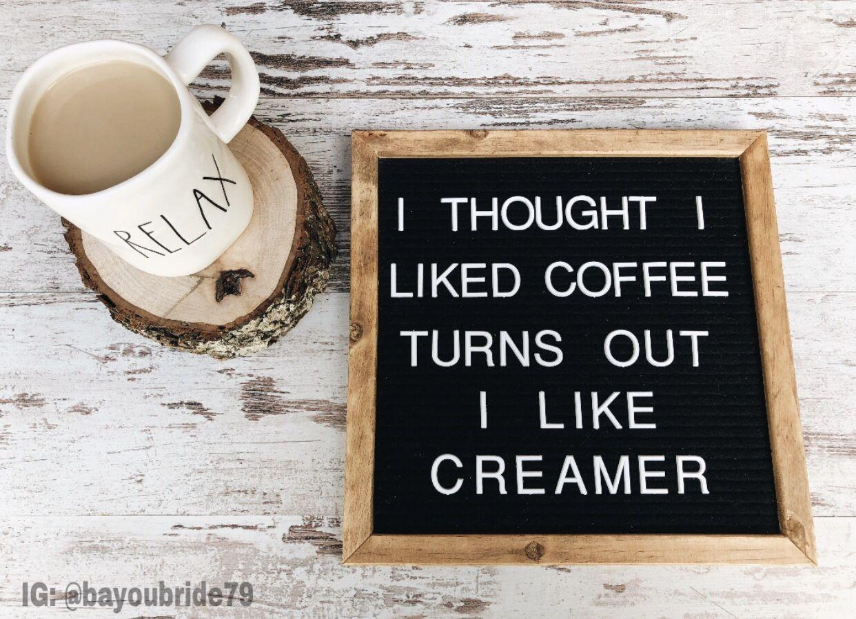 coffee letter board quote lettering felt letter board letter board