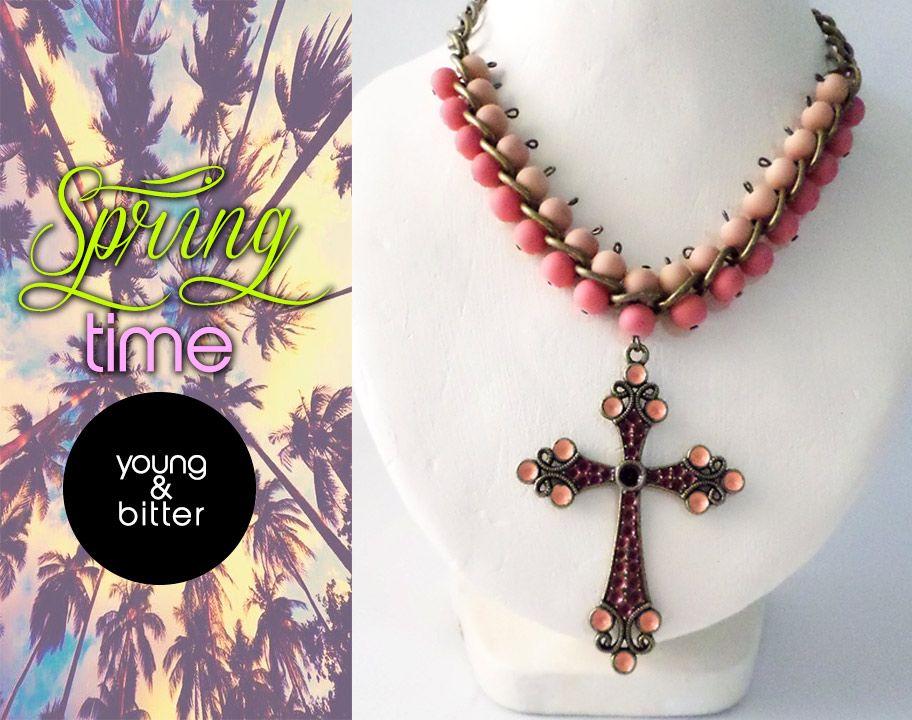 #spring #Y&B #Bisuteria #Moda BISUTERIA HECHA A MANO HAZ TUS PEDIDOS POR INBOX EN https://www.facebook.com/pages/Young-Bitter/696323103717578?fref=ts