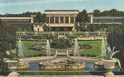 Postcard Of Exterior Of Longwood Gardens Conservatory (this Is Someoneu0027s  Yard!!!)
