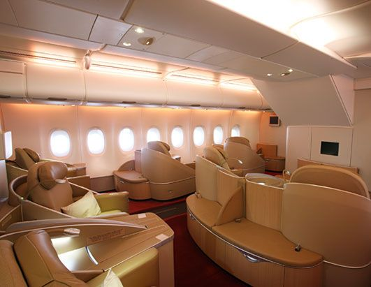 Air Frances New First Class Seats Called La Premiere Are Angled