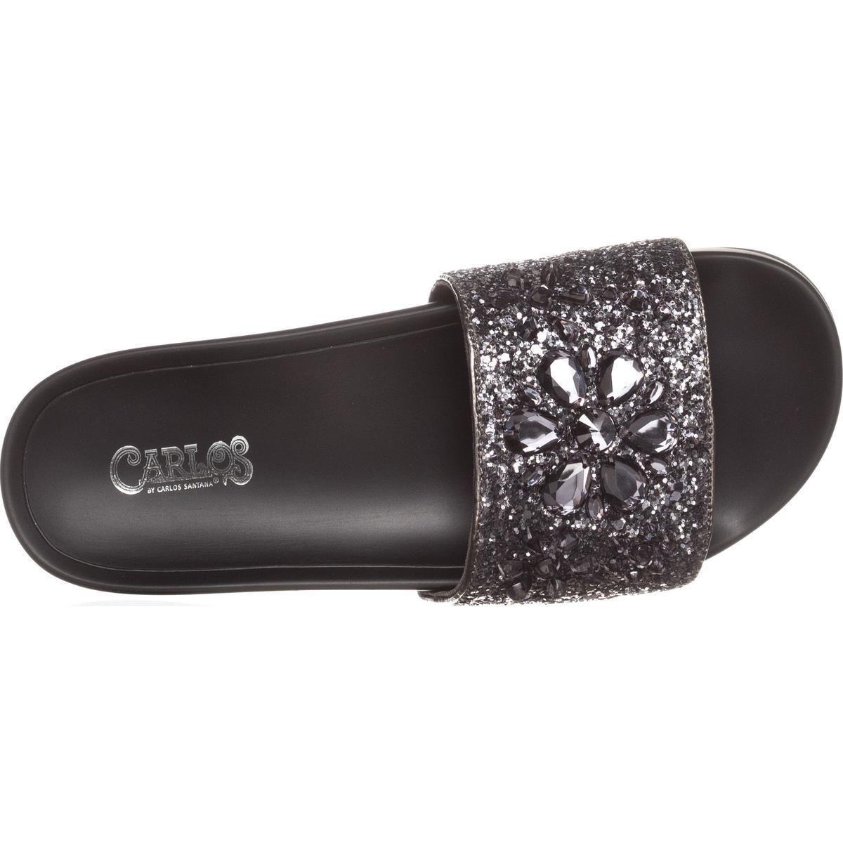 B35 Reagan Slide Sandals Pewter 9 UK