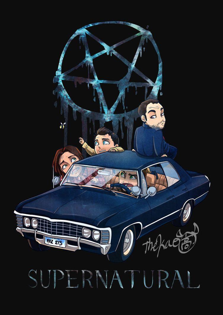Supernatural Ride By Thek40 Supernatural Wallpaper Supernatural