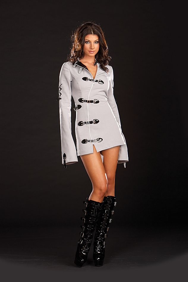 Sexy Straight Jacket Costume | Straight jacket costume, Straight ...