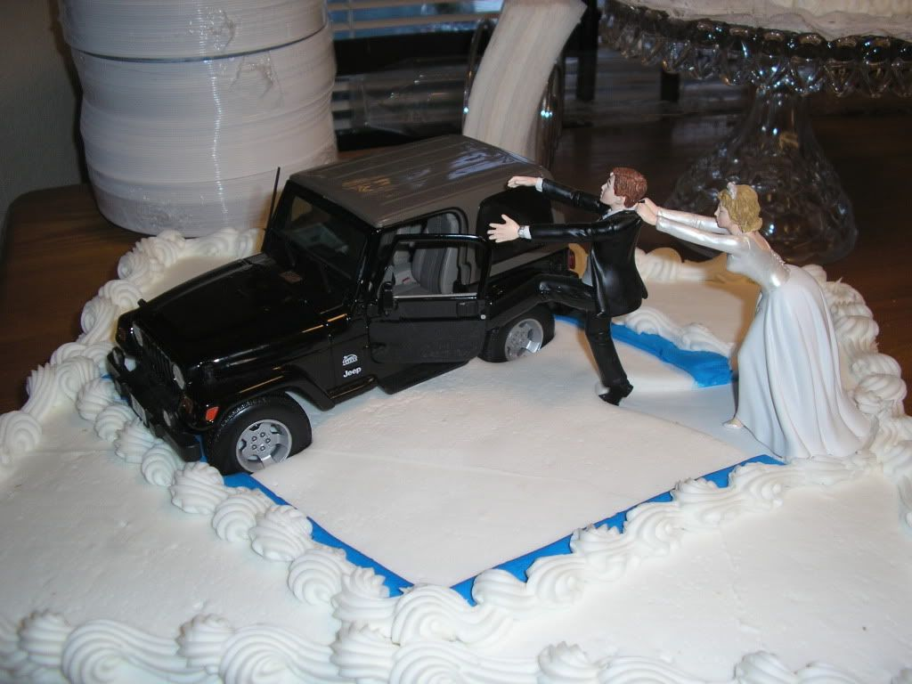 Jeep Wedding Cake Toppers Az Vehicle 2006 Tj Posts 75