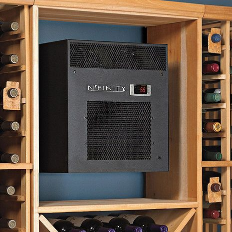 N Finity 3000 Wine Cellar Cooling Unit Max Room Size 650 Cu Ft Wine Enthusiast Wine Cellar Cooling Unit Wine Cellar Cooling Unit