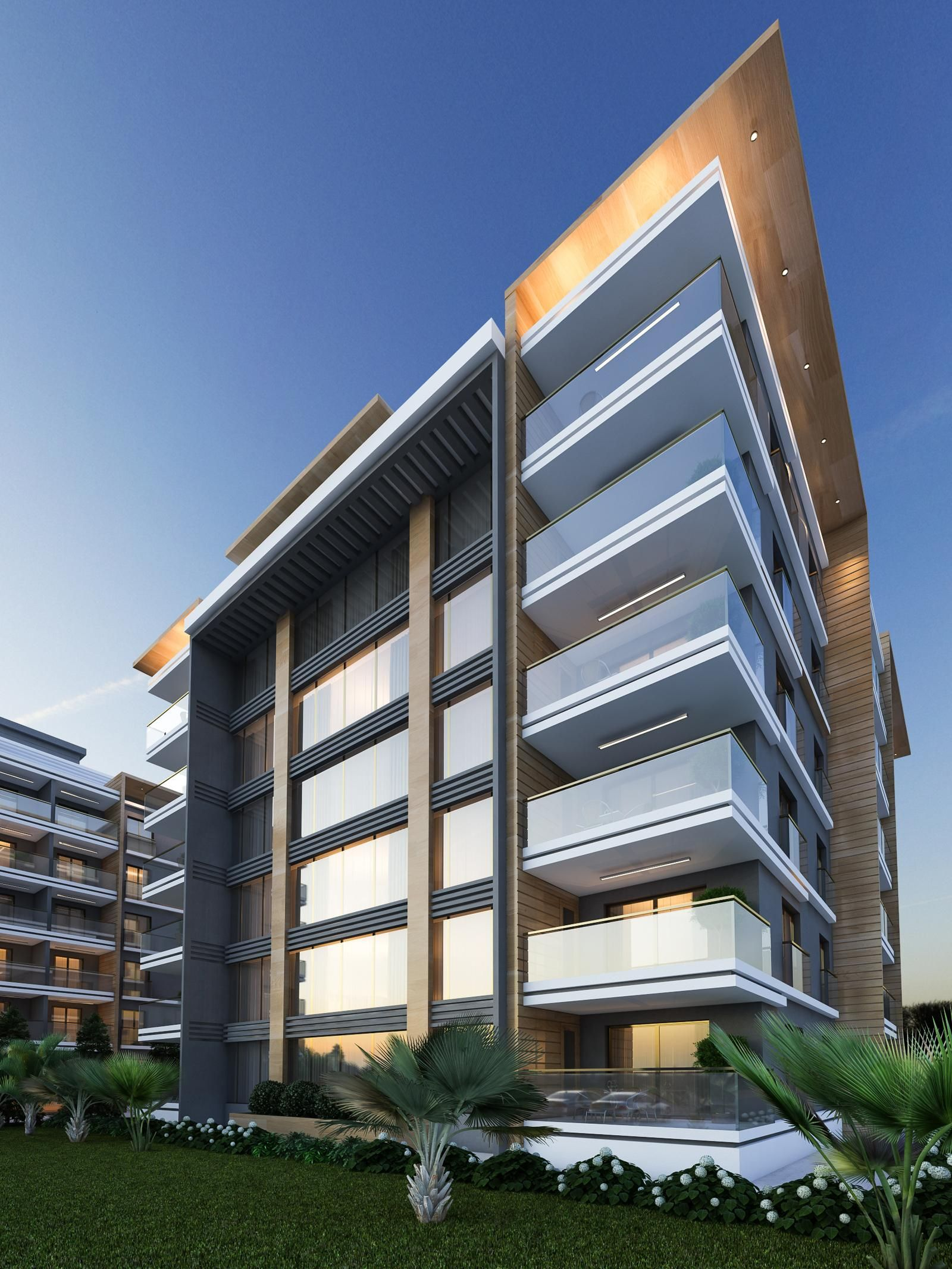 Architectural Design Of Residential Building Toprak Evlerİ Resi Modern Architecture Architecture