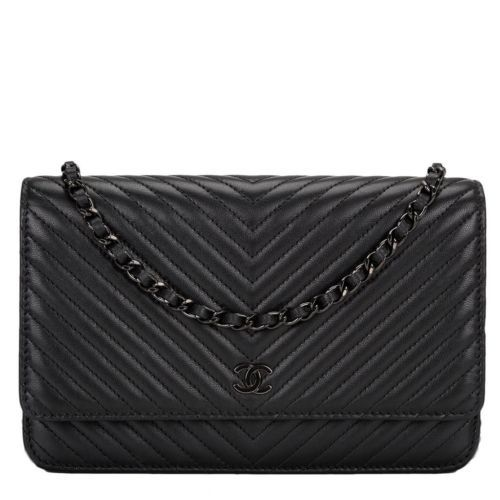 7a94c4704c43 My DREAM purse Chanel-So-Black-Chevron-Wallet-On-Chain-WOC