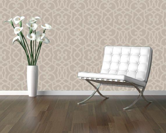 Chez Sheik Moroccan Stencil Royal Design Studio For The Home
