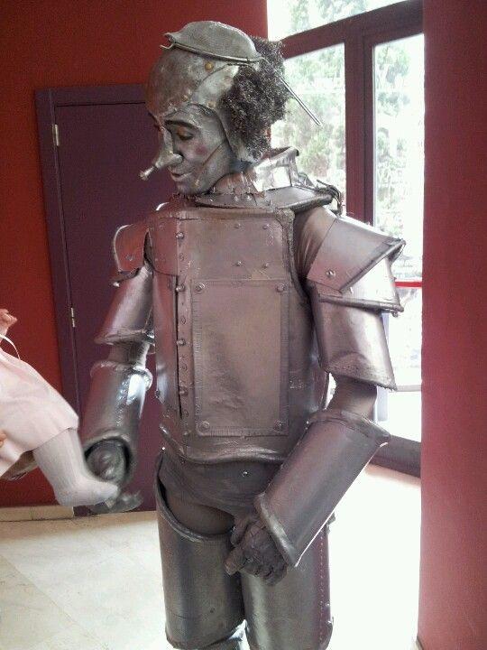 el hombre de hojalata Disfraz Hombre De Hojalata 92fc8c15ede