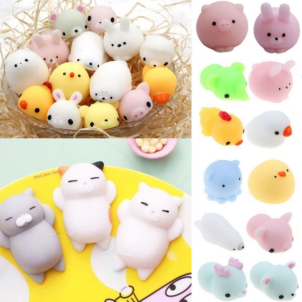 Cellphones & Telecommunications Japan Mini Soft Press Doll Squishy Seal Funny Novelty Toy Phone Straps Squeeze Kids Toy Healing Kawaii Gift Stress Relieve