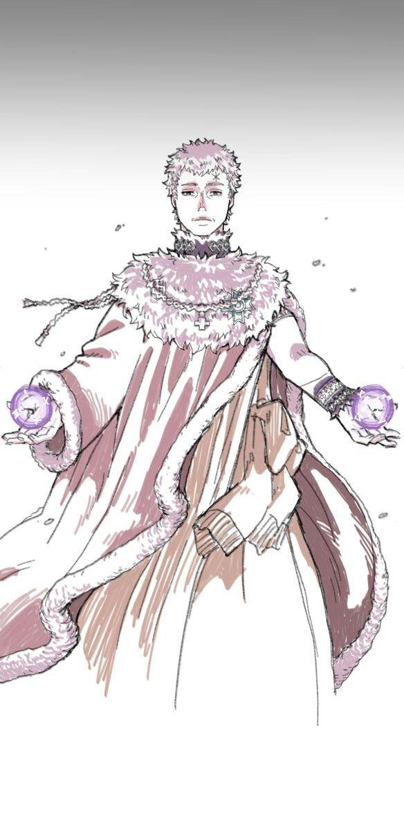 Julius Novachrono Profile : Julius novachrono is the 28th magic emperor (wizard king) of the clover kingdom.