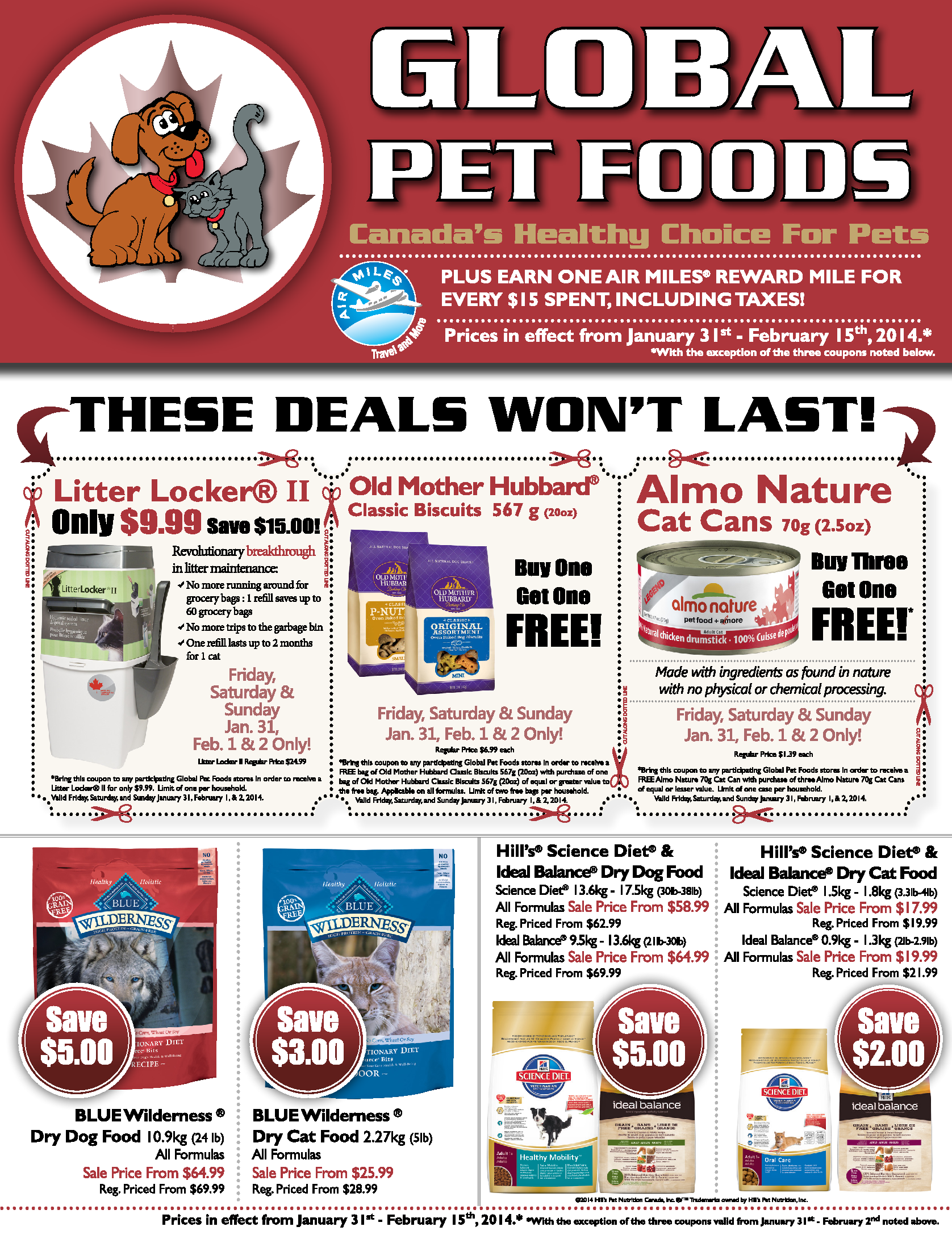 Pin By Global Pet Foods On Save When You Shop With Us Food Animals Flyer Old Mother Hubbard
