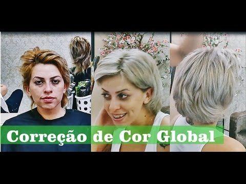 Correção de Cor Global  com 10.21 e corretores da Alfaparf -       por Cris Kulkkamp - YouTube