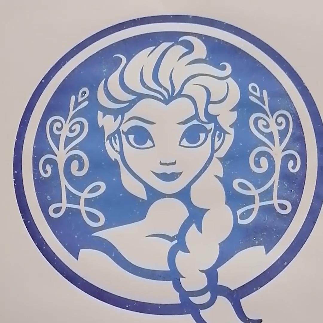 Elsa SVG, Disney SVG, La Reine des Neiges svg, Frozen svg, Elsa Clipart, png, Dxf, Fichier de découpe, Silhouette Cameo, Cricut, SVG Geek