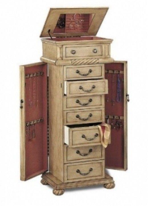 Floor Standing Jewelry Boxes Jewelry Armoire Standing Jewelry Box Jewellery Storage