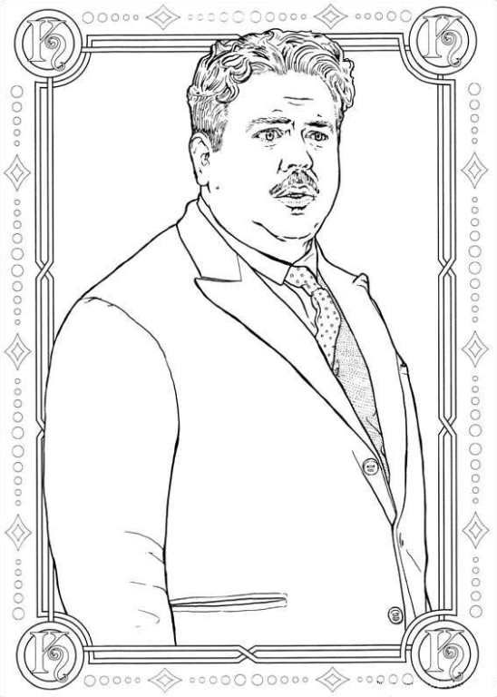 fantastic beasts coloring pages free | Pin van Lisa Morris op Fantastic Beasts and etc. in 2019 ...