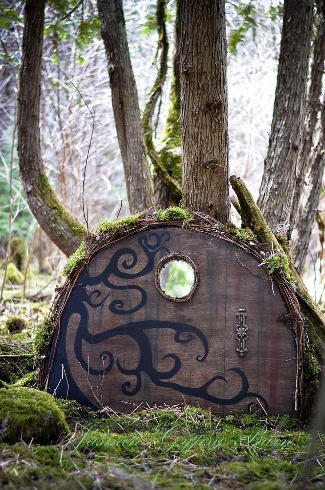 cool Salle à manger - Magical Garden Doors for Fairies, Hobbits