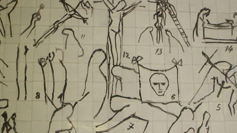 Matisse, Le chemin de Croix, Vence