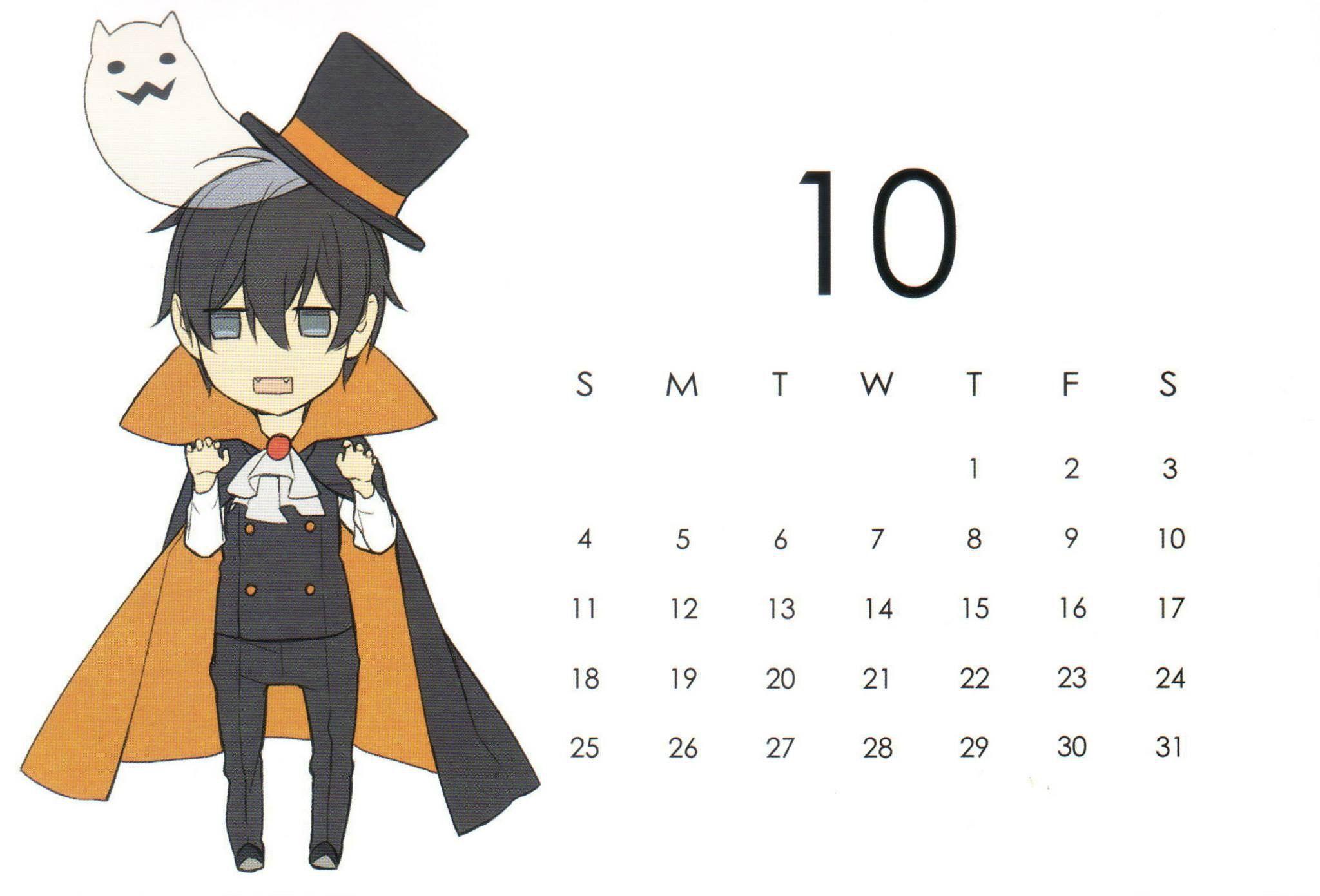 Ten Count 2015 Calendar October Anime, Anime images