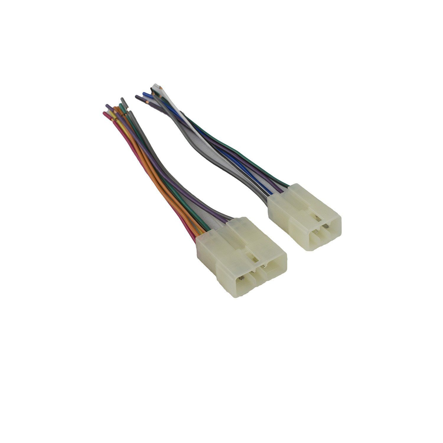 Novosonics Daf 610 Wiring Harness For Mitsubishi Chrysler Import Car Stereo Connector Fits Existing Connector In Your Vehicle Import Cars Car Stereo Harness