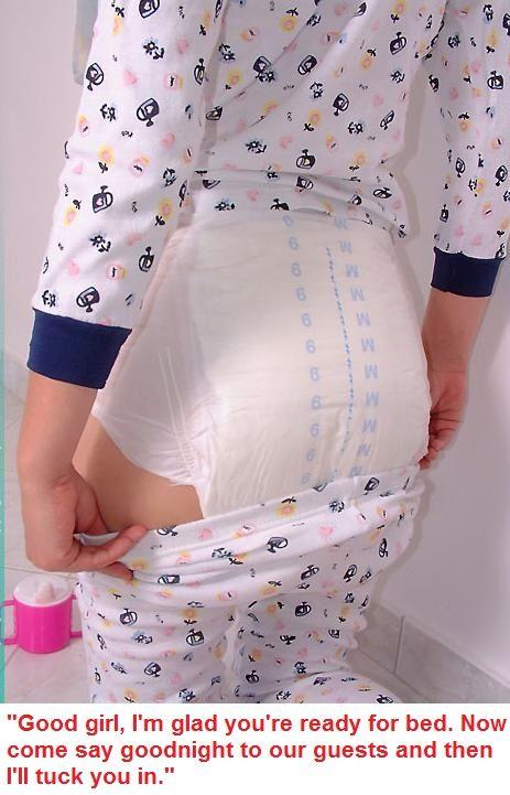 ABDL Diaper Captions