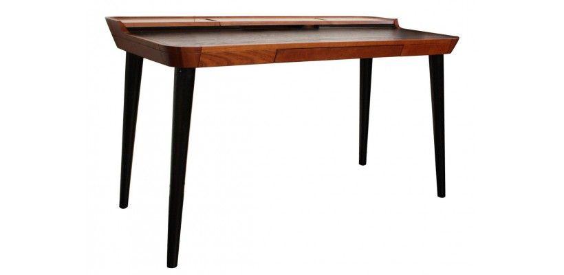 Bureau otsu en bois design bureaus bureau design and tables for Bureau dessin