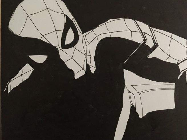 Spider Man By Ethan Castillo Marvel Universe Art Spiderman Cool Art