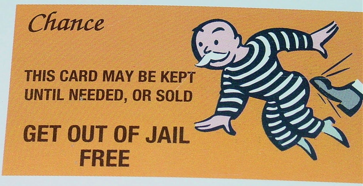 The Wonderful Monopoly Get Out Of Jail Free Card Template Monopoly Get Inside Get Out Of Jail Free Card Templates Free Card Template Holiday Card Template