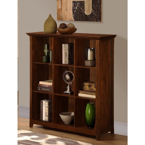 Normandy Tobacco Brown 9 Cube Bookcase u0026 Storage Unit - Overstock™ Shopping - Great Deals on WyndenHall Media/Bookshelves  sc 1 st  Pinterest & Normandy Tobacco Brown 9 Cube Bookcase u0026 Storage Unit - Overstock ...