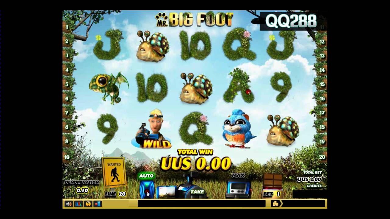 Spade Gaming Big Foot Slot Mesin Jackpot QQ288 Mesin